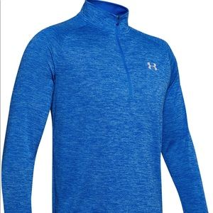 Under Armour Blue Half Zip Athletic Pullover NEW